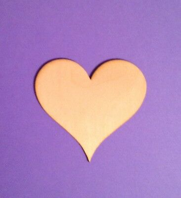 Heart Shapes (WOODEN LASER CUT SHAPES - HEARTS - Multiple Sizes - Made in)