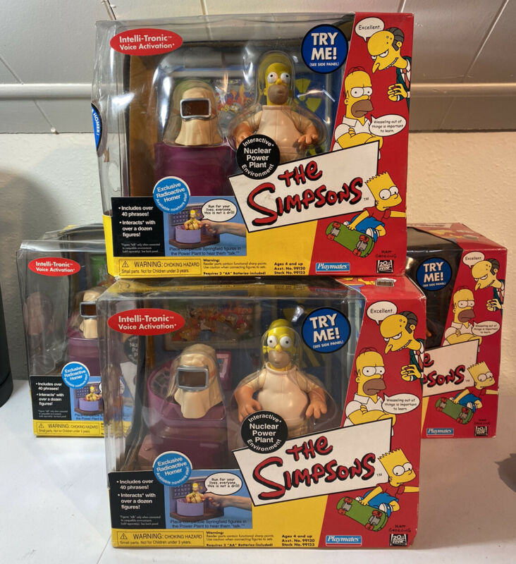 The Simpsons NUCLEAR POWER PLANT Interactive Environment RADIOACTIVE HOMER