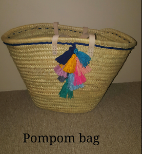 Straw Morrocan  baskets  - Brand New Secret Harbour Rockingham Area Preview