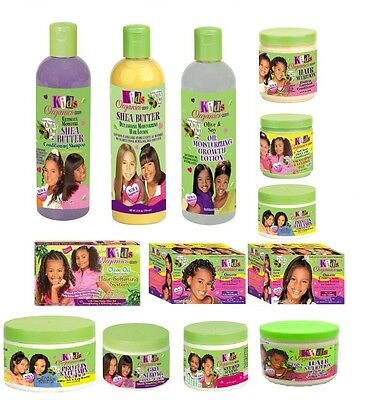 KIDS ORGANIC AFRICA BEST OLIVE OIL KIDS HAIR CARE PRODUCTS FOR GROWTH