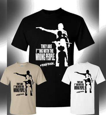 The Walking Dead T-Shirt #Team Rick Michonne Daryl Dixon Rick Grimes Carl TWD ()