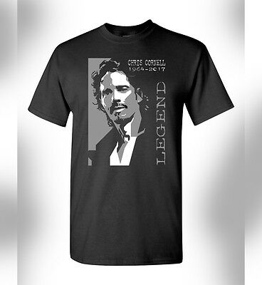 Soundgarden Rip Chris Cornell Tshirt Rock Band Grunge Seattle Badmotorfinger