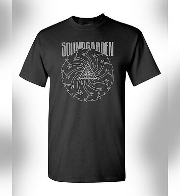 Soundgarden Badmotorfinger Tshirt Rock Band Grunge Chris Cornell Seattle