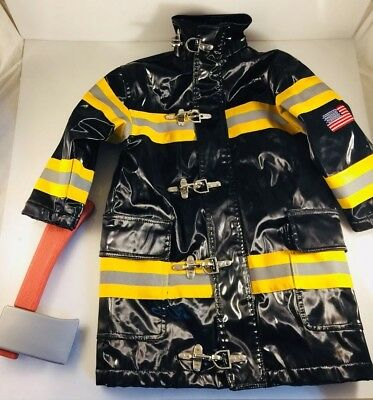 Timber Clothing Co. Firefighter Jacket Halloween Costume Dress Up Lined S /4+ ax - Firefighter Jacket Halloween