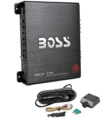 RIOT 1100 Watts, Mosfet Monoblock Power Amplifier R1100M