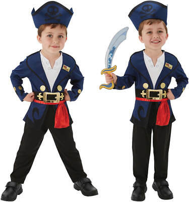 Jake the Pirate Pirat Kinder Karneval Fasching Kostüm 92-116