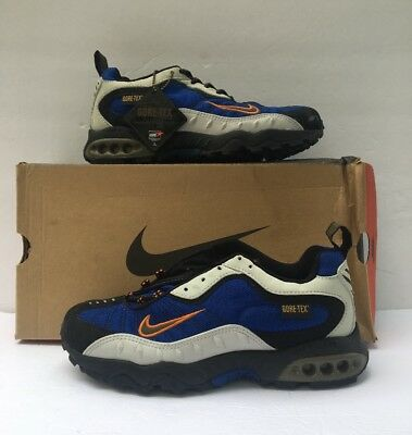 Nike Gore Tex (Vintage Nike Air Terra Ketchikan Gore-tex Blue/olive/black 6.5 104148-401 trail)