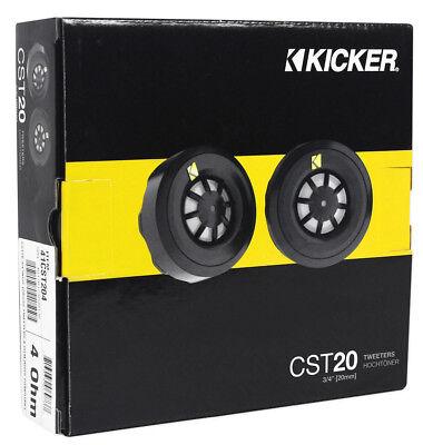 100w Titanium Tweeters (Kicker CST20 100 W 3/4