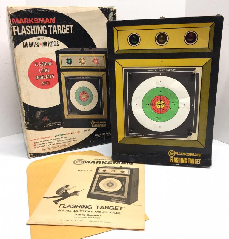 1969  Marksman Flashing Target For Air Rifles And Air Pistols