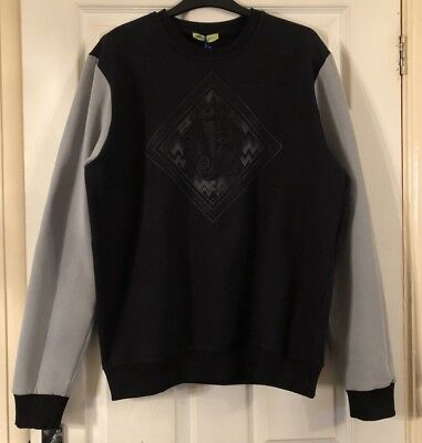 NEW Authentic Mens Stylish Versace Designer Long Sleeve Jumper, Size XL