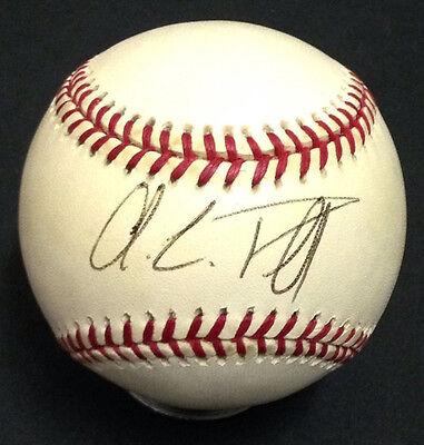 Colin Powell Secretary Of State Signed Official Al Baseball Autograph Jsa Coa