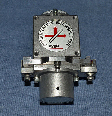 Zygo Polarization Beamsplitter 7003a Retroreflector High Stability Pmi Interfero