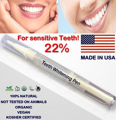 22% Teeth Whitening White Gel  TWIST PEN  -FOR SENSITIVE