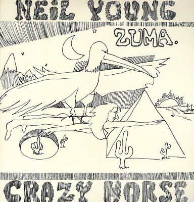 NEIL YOUNG ZUMA VINYL LP (2017 Reissue)