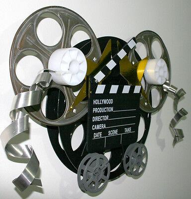 Movie Reel Wall Decor media/game room art film reels 16mm and 35mm | ebay