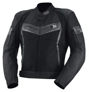 IXS-Chaqueta-de-moto-cuero-Textil-Rockford-tamano-98-48-Largo-Hombre