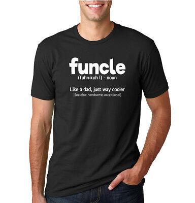 Mens Humor (Funcle Fun Uncle Mens Nephew Niece Humor T-Shirt Graphic Family Gift)