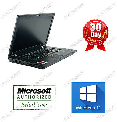 "Lenovo Thinkpad L420 Laptop i5 2.5 GHz 8GB ram 320GB HDD DVDRW W10H 14"" Warranty"