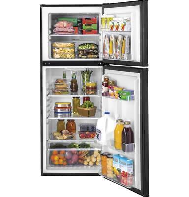 Haier 11.5 cu.ft. Black Top Freezer Refrigerator--BRAND NEW Haier Black Refrigerator