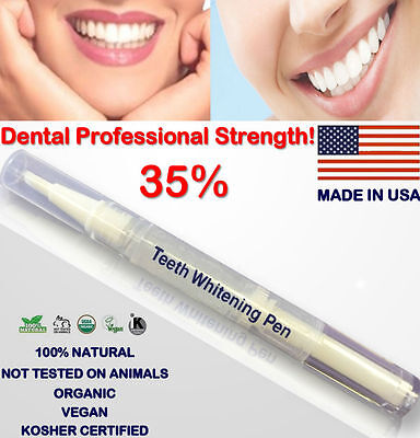 35% Teeth Whitening White Gel PEN  -PROFESSIONAL STRENGTH -