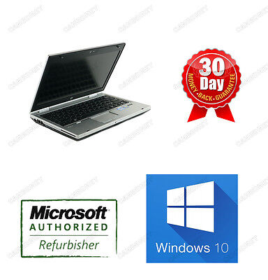 HP EliteBook 2560P i7 2.8GHz 8GB ram 320GB DVDRW Win10H New Battery laptop