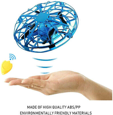 Mini Drone for Kids Toys Around Operated Flying Ball Gifts Motion Sensor Aircraft