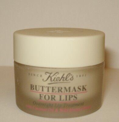 - Kiehl's Buttermask For Lips Overnight Treatment w/ Coconut Oil & Mango Butter