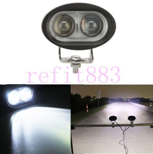 1X 20W Car Auto Off-Road Motorcycle Fog Light Spot Beam LED Work Lamp Waterproof