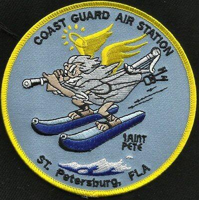 "US COAST GUARD AIR STATION ST. PETERSBURG, FLA ""SAINT PETE"" MILITARY PATCH"