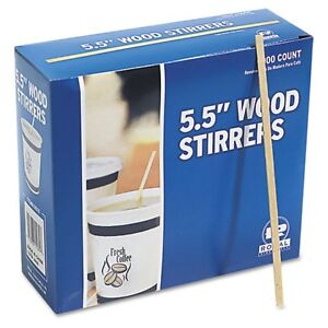 1000-WOOD-COFFEE-STIRRERS-5-5-Stir-Wooden-Crafts-Popsicle-Cupcake-Sticks