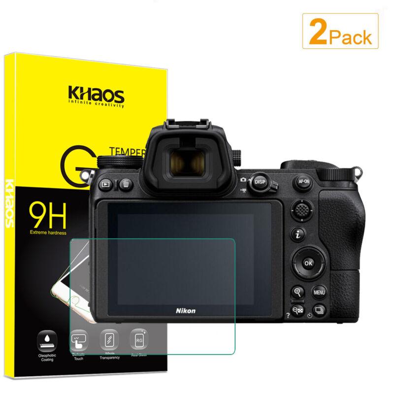 2X Khaos For Nikon Z6 / Z7 Digital SLR Camera Tempered Glass Screen Protector