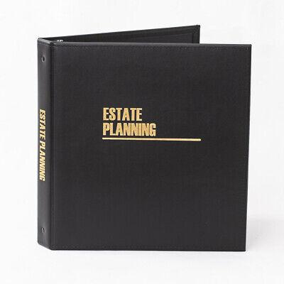 Estate Planning Binder - Leatherette