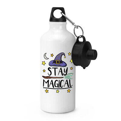 Stay Magical Sport Wasserflasche Lustig Witz Spell Hexe Assistenten Zelten