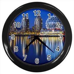 Vancouver Bc Canada Wall Clock