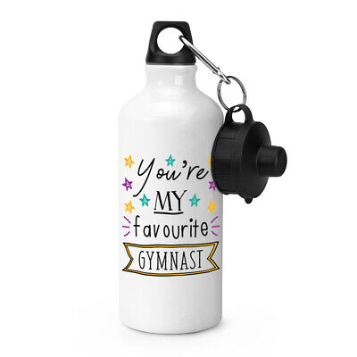 You're My Favourite Gymnast Stars Sports Water Bottle Funny Best