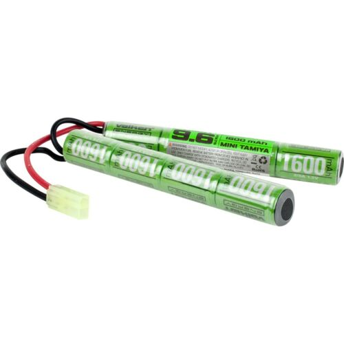 New Valken Energy Airsoft Hobby Battery - Nunchuck (9.6v NiMH 1600mAh)