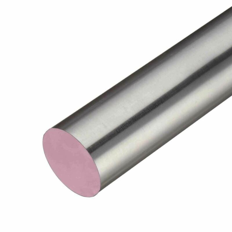 303 Stainless Steel Round Rod, 0.500 (1/2 inch) x 36 inches