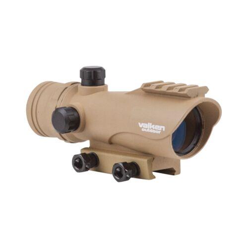 New Valken Outdoor Red Dot RDA30 Reflex Sight Site Optic Tan w Mount