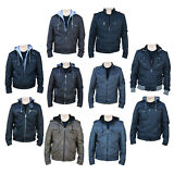 RNZ Premium Designer Men's Faux Leather Jacket - Multiple Styles