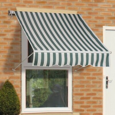 1.5M Window Awning Shaftesbury Canopy Sun Shade with Winding Mechanism