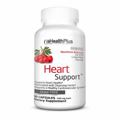Health Plus Heart Cleanse Capsules, 90 Count Health Plus Cleanse Heart