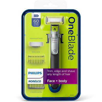 Brand NEW Philips Norelco QP2630/70  OneBlade Face + Body Electric Shaver