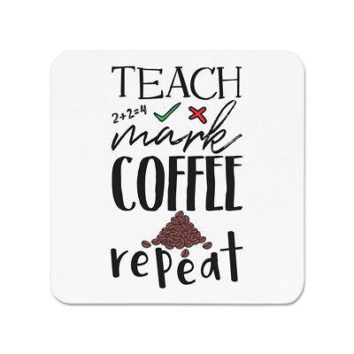 Lerne die Mark Kaffee Dupliziert KÜHLSCHRANKMAGNET - Lehrer Geschenk (Kühlschrank-magnete Lernen)