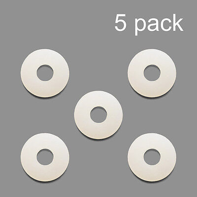 5 Pack Nylon Washer Replacement Gasket For Co2 Regulators Kegerator Draft Beer