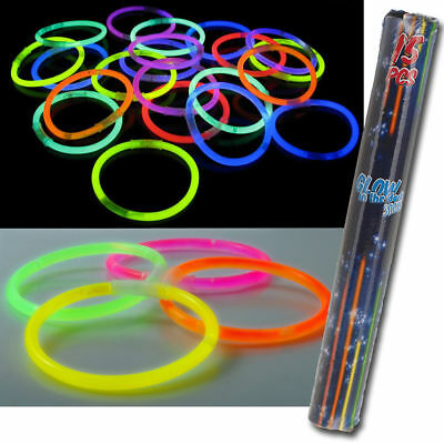 THE DARK STICKS BRACELETS HEN NIGHTS KIDS ADULTS PARTY BAGS (Glo In The Dark Party)