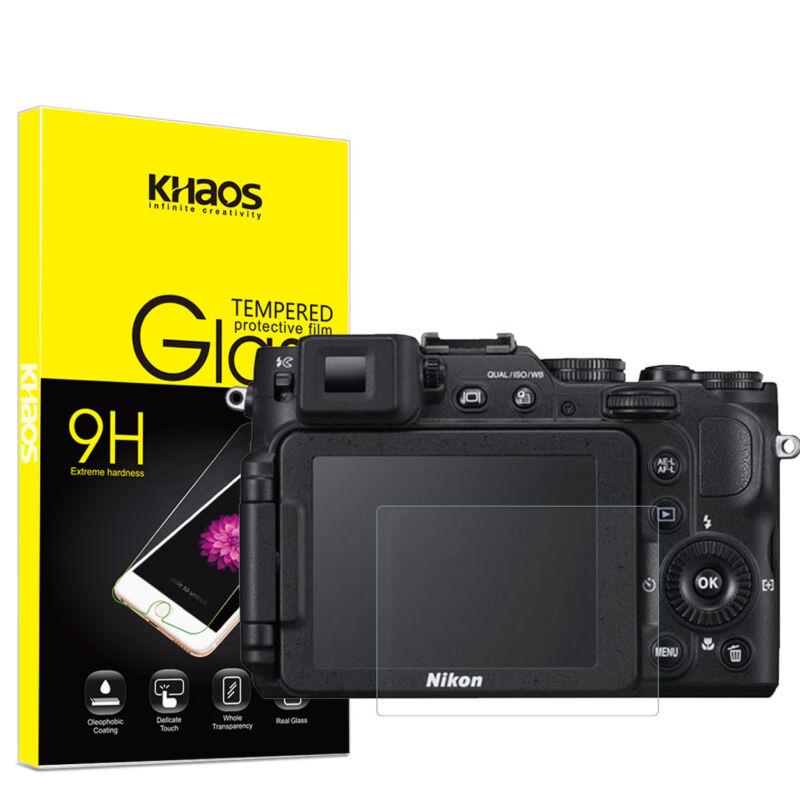 Khaos For Nikon P7800 P7700 P7100  Tempered Glass Screen Protector
