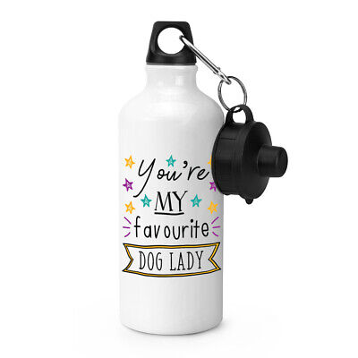 You're My Favourite Dog Lady Stars Sports Water Bottle Funny Best