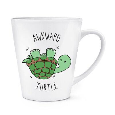 Awkward Turtle 12Oz Latte Mug Cup   Funny Tortoise