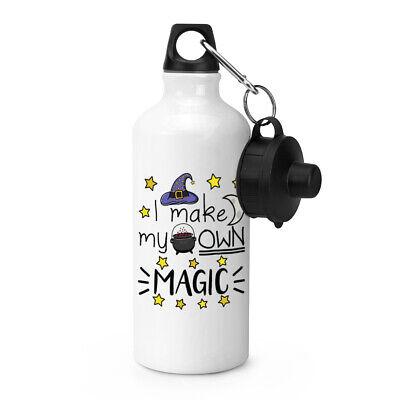 I Make My Own Magic Sport Wasserflasche Lustig Witz Hexe Assistenten Zelten