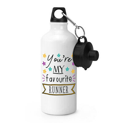 You're My Favourite Runner Stars Sports Water Bottle Funny Best Running